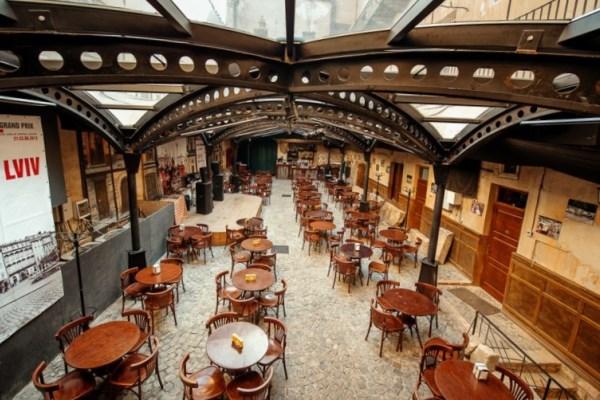 Рестораны и кафе Львова
