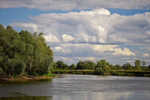 Река Днепр и ее притоки в районе Запорожья