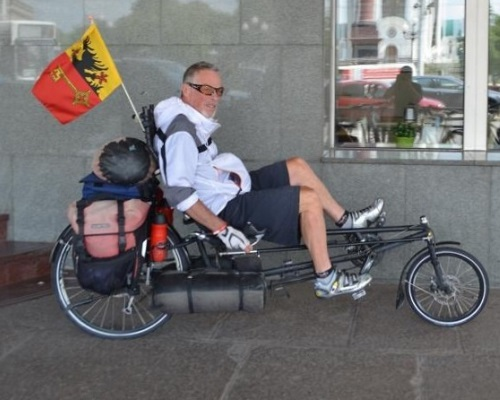 В России в ДТП погиб известный американский велосипедист-путешественник Рон Макгерити