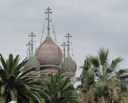 Храм Христа спасителя в Сан-Ремо