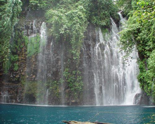 Водопады Тинаго и красота природы
