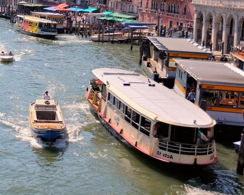 общественный транспорт в венеции