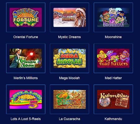 Casino Avtomaty - новые и классические слоты