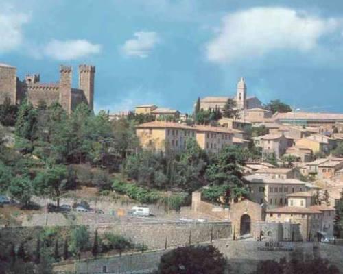 Монтепульчано и Монтальчино. Италия