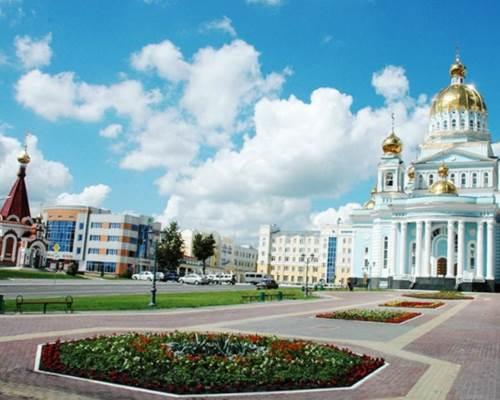 Красивый город Саранск