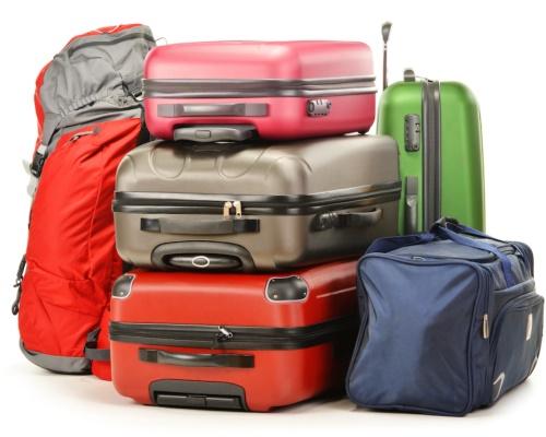 Городской рюкзак, дорожная сумка, чемодан на колесах