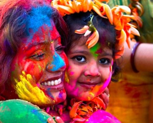 Праздник Холи, государственный праздник Маврикии