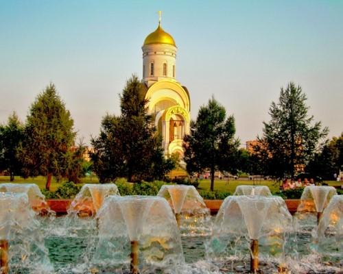 Парк Победы в Москве память о великой войне