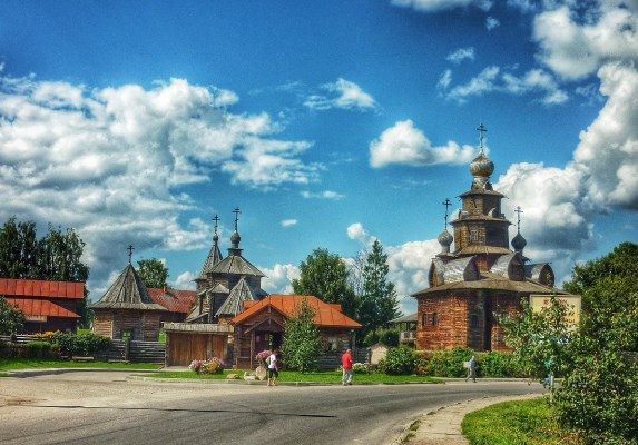 Суздаль – архитектурный самоцвет России