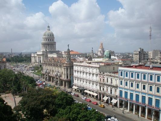 Пасео дель Прадо - главная улица Гаваны