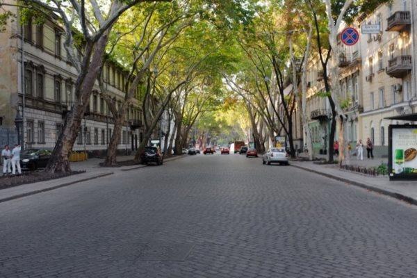 Впечатления о старых улицах Одессы