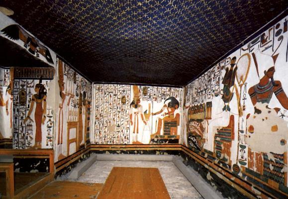 Почему гробница Нефертари пустует