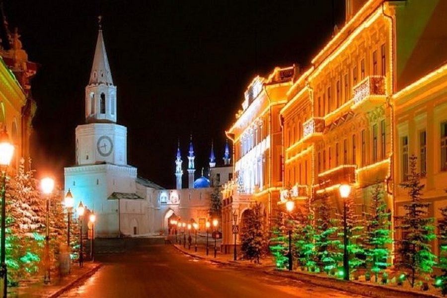 Казань попала в Топ-10 городов для отдыха на Новый Год